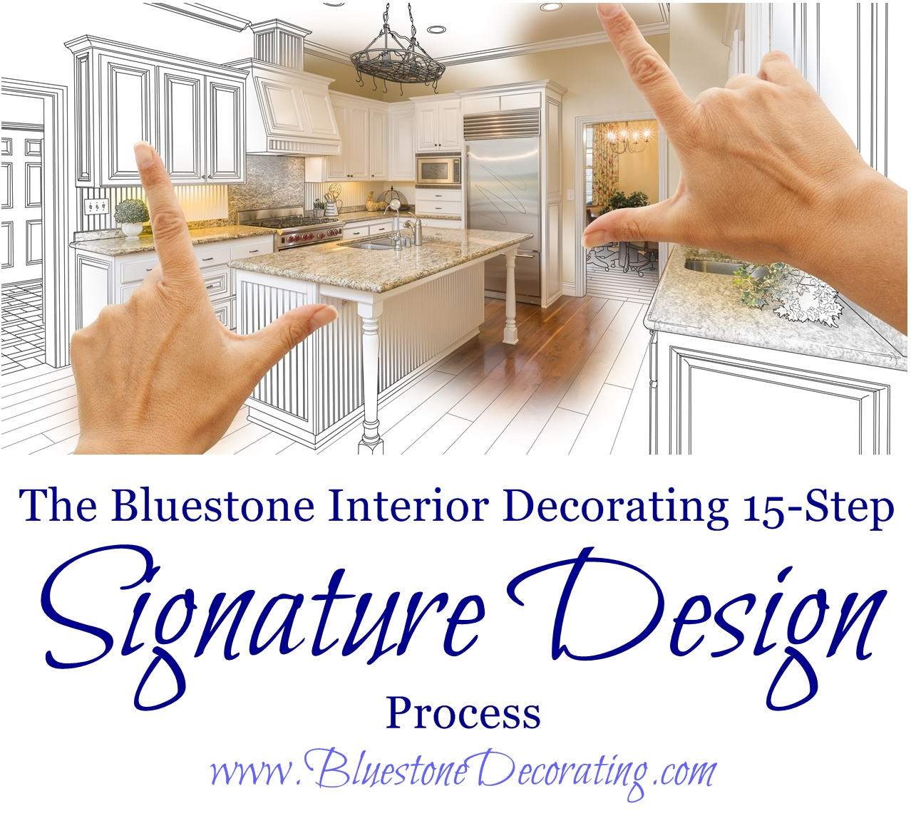 The bluestone interior decorating 15 step signature design for Interior design process